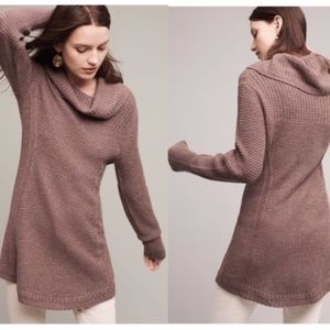 Angel of the North Rosie cowlneck tunic sweater